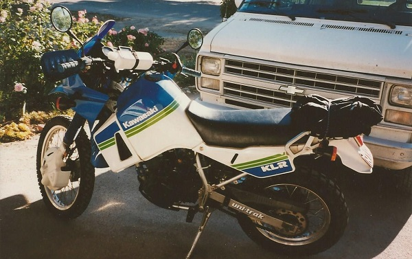 pic of 89 Kawi KLR